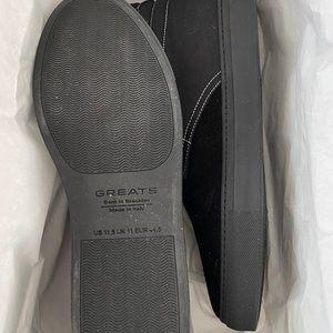 Noah NYC Shoes - Noah x Greats Royale Chukka Blk/Blk size 11.5